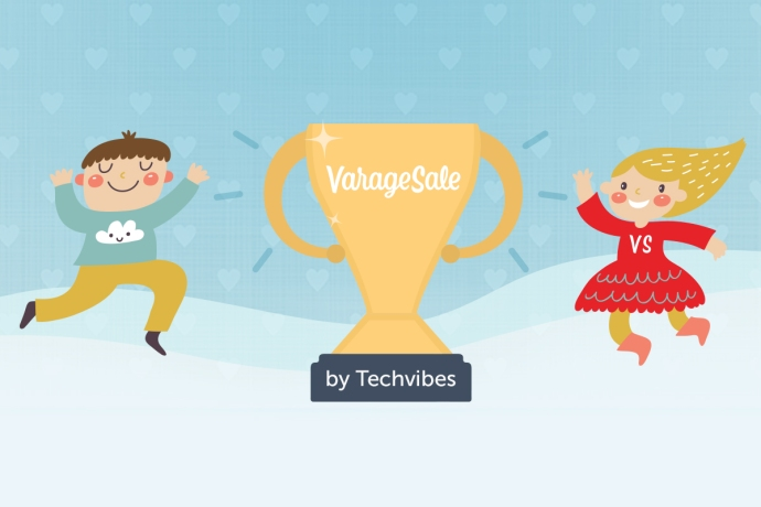 VarageSale is 2014 startup of the year