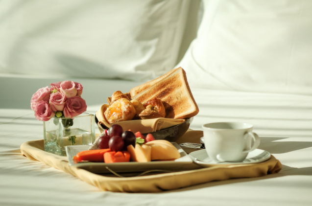 Spoil your mom by making this Mother's Day all about her-start with breakfast in bed!