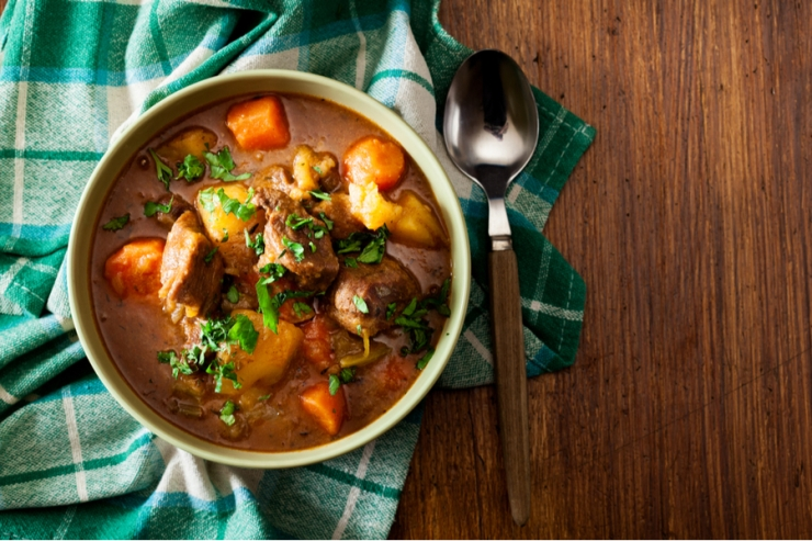 Nothing warms the soul like a bowl of hot stew!