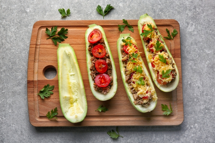 Stuffed zucchini will have you licking your fingers and saving more than a few pennies.